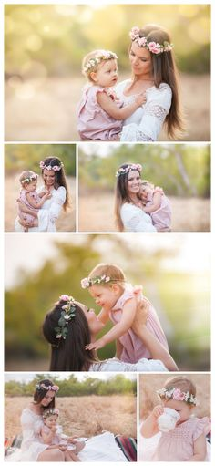 San Diego Photographer | Michelle Popp Photography |Floral Crowns: Smitten By Shiloh mommy & me photos, floral crown, fairy baby crown, mommy & me floral crowns
