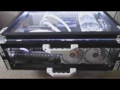 I'm just showing off how fast my gaming rig boots with a solid state hard drive. I built it inside of a Pelican case for durability while transporting. My jo...