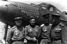 """P-39 """"Airacobra"""" and Soviet fighter pilots-aces"""