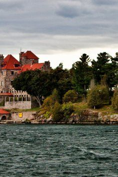 105 year old Castle on 7 acre island in the 1000 Islands | Chippewa Bay , NY Singer Castle on Dark Island - A part of American history and local folklore meet at Singer Castle on Dark Island, located on the St. Lawrence Seaway. Singer Castle is the only castle on our river to be completed, fully furnished and resided in during the heyday of the 'great builders' and industrials in New York.