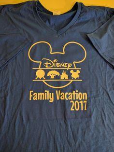 Disney family vacation shirt Matching Family by MamaBearMonogram