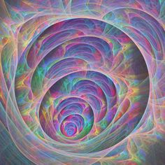 Fractal World  fractal flame by Cory Ench