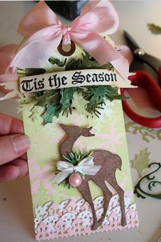 12 Tags of Christmas With a Feminine Twist 2011 - Day 9 by Christmas Tag, reindeer