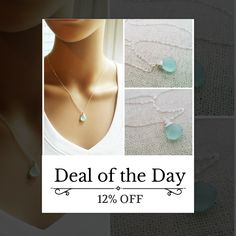 Today Only! 12% OFF this item.  Follow us on Pinterest to be the first to see our exciting Daily Deals. Today's Product: Aqua Chalcedony Wire Wrapped Briolette - Sterling Silver Necklace - Teardrop Necklace - Silver Necklace - Gift for Her Buy now: https://small.bz/AAclUXy #etsy #etsyseller #etsyshop #etsylove #etsyfinds #etsygifts #musthave #loveit #instacool #shop #shopping #onlineshopping #instashop #instagood #instafollow #photooftheday #picoftheday #love #OTstores #smallbiz #sale…