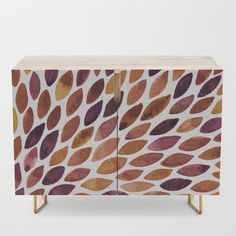 Watercolor brush strokes burst - late autumn palette Credenza by wackapacka Late Autumn, Watercolor Brushes, Brush Strokes, Credenza, Epoxy, Happy Shopping, Stool, Tables, Palette