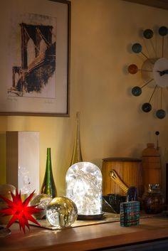 Peter Gangl porcelain&ceramic, Murano glas, ball clock, George Nelson, Herrnhuter x-mas star, Sunburst Clock, German Christmas Markets, Star Decorations, George Nelson, Design Your Home, Porcelain Ceramics, Mid Century, Home And Garden, Stars