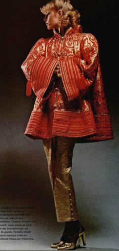 1977-78 -  Yves Saint Laurent couture ensemble