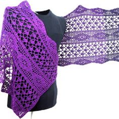 Häkelanleitung Erigeneia in a Rectangle - Maschenzähler Designs Colored Rope, How To Make Tassels, Learn How To Knit, Designer Socks, Knitted Shawls, Free Knitting, Crochet Projects, Crochet Top, Free Pattern