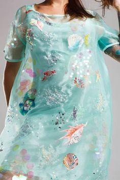 Festival Dress, Festival Outfits, Festival Clothing, Mint Dress, Fancy Dress, Dress Up, Vestidos Color Menta, Organza Dress, Floral Tops