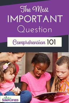 Are you asking TOO MANY comprehension questions but ignoring the 1 most VITAL one? Discover why summarizing is essential to reading achievement & how to coach students to develop that skill. Also, snag a FREE bookmark to remind you of the coaching tips! #readingcomprehension #comprehension #summarize #summarizing Reading Activities, Reading Skills, Teaching Reading, Reading Aloud, Reading Games, Learning, Reading Comprehension Strategies, Comprehension Questions, Teaching Strategies