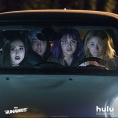 Marvels Runaway TV Show Scene With Nico, Gert, Molly and Karolina, Take A Look At the Breakdown of the premier 3 episodes of Marvels Runaways - DigitalEntertainmentReview.com