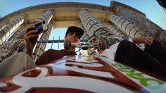Si, es para vendernos unas camaritas magníficas, llamadas GoPro, que se pueden programar para hacer cosas geniales,  que podeis conocer aquí  http://GoPro.com  Sin embargo y a pesar de su condición vendedora, este clip es la bomba: New York City... A Day in the Life - Starring Skate Legend Ryan Sheckler.