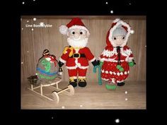 An overview of Mrs Santa dolls made with a Peggy Sew pattern Santa Doll, Sew Pattern, Amigurumi Patterns, Sewing Patterns, Dolls, Christmas Ornaments, Holiday Decor, Home Decor, Baby Dolls