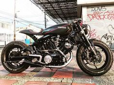 by CAFE RACER | Tag your bike #caferacergram | @roman.y.bernal's Brutal Virago cafe racer work-in-progress #virago #viragocaferacer #yamaha #xv1000 #xv920 #xv750 #yamahacaferacer #caferacer #caferacers # See more on our profile or at facebook.com/caferacers
