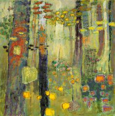 Inside the Outdoors | oil on canvas | 48 x 48"