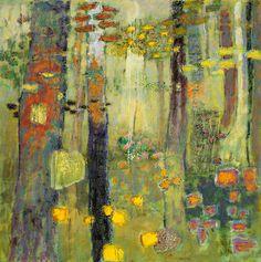 "Inside the Outdoors | oil on canvas | 48 x 48"" | 2014 | Rick Stevens 2014 artwork"