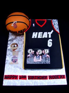 miami heat basketball cake | Miami Heat Jersey