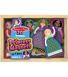 Melissa & Doug Princess Wooden Magnet Set