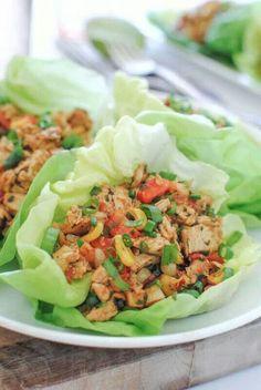 Chicken in lettuce