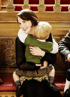 Lady Mary and George | Downton Abbey Christmas Special