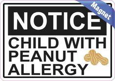 peanut allergy magnet