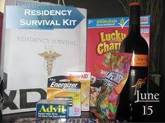 Residency Survival Kit, Med School Survival Kit, Nursing Survival kit, Doctor…