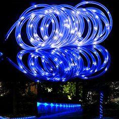 Litom Guirlande Solaire Multicolore 200 LED Guirlande Lumineuse