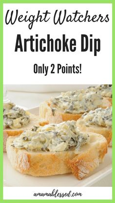 Are you looking for easy Weight Watchers Freestyle recipes? Searching for Weight Watchers recipes? This Weight Watcher artichoke dip is the perfect appetizer or perfect Weight Watchers snack for people looking to lose weight without sacrificing taste! This recipe is with points, it's only 2 Smart Points per serving. Made in the crock pot, this recipe is very simple and easy to make.