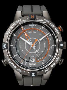 Timex Intelligent Quartz - Tide, Temperature, Compass Watch ✔