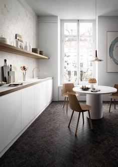 Na zdjęciu znajdują się włoskie płytki Marazzi - największy wybór włoskiej ceramiki znajdziesz w naszych showroomach