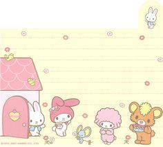 "Sanrio My Melody ""Variety"" Memo (Sheet) (6) | crazysugarbunny | Flickr"