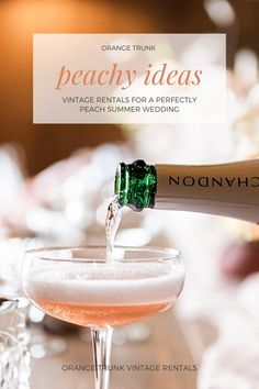 Peachy ideas for vintage wedding rentals that will help you plan a perfectly peachy summer wedding. Vintage Wedding Rentals available at Orange Trunk Vintage Rentals in Calgary, Alberta, Canada. Summer Wedding, Wedding Day, Ice Cream Cart, Just Peachy, Wedding Rentals, Wedding Vintage, Alberta Canada, Orange, Wedding Shoot