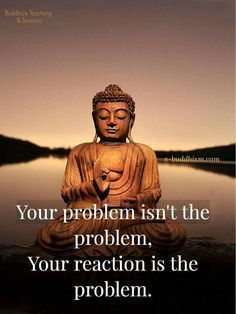 Your reaction is the problem    spirituallypositivegifts.com    #PositivelyPositive #LoveYourLife #LoveYourself #positiveThinking  #selfImprovement #SpirituallyPositive #SpirituallyPositivesOnLineStore