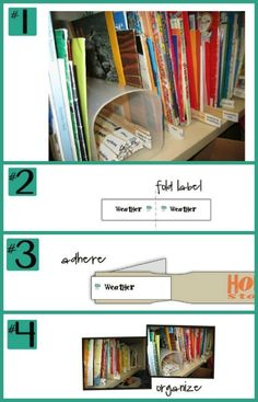 Organize my classroom library