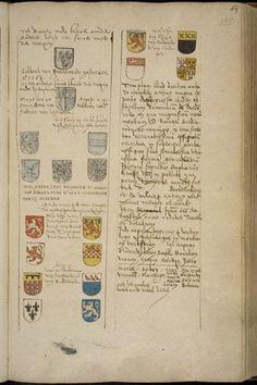 Beschrijving Brederode-kapel in de Grote kerk van Vianen uit de Inscriptiones Van Buchel p. 135