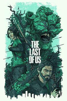 Illustrations for Naughty Dog Studios and Sony Playstation for the upcoming title The Last of US The Last Of Us, Skyrim, Playstation, Zombies, Beyond Two Souls, Art Tumblr, Gaming Posters, Fan Art, Video Game Art