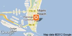 Ocean Drive (5th to 15th) - most famous beach in Miami