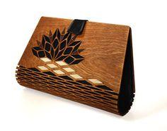 PROTOTYPE   Wooden clutch Silk clutch Evening clutch