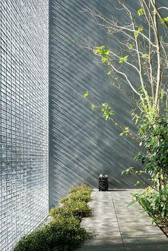 'Optical Glass House' in Hiroshima/Japan designed by Hiroshi Nakamura and NAP