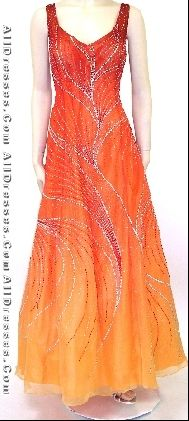 "great for a formal occasion or as ""The Girl on Fire"" dress"