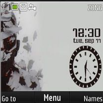 Download free Linkin Park Flower Clock Mobile Theme Nokia mobile theme. Downloads hundreds of free C3,X2-01,Asha 200,Asha 201,Asha 302,Asha 205 themes to your mobile.