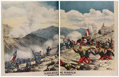 "Batalla de Tacna, 26 de mayo, 1880 Dibujo encontrado en la revista ""La Lira Chilena"", año 1903  BATTLE OF TACNA 26, MAY 1880 source: Drawing published at La Lira Chilena magazine 1903"