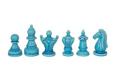 S/6 Chess Objets, Blue on OneKingsLane.com $55