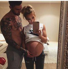 Imagem de couple, baby, and pregnant