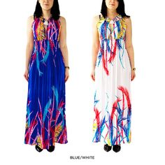 2-Pack: Vibrant Summer Maxi-Dresses - Assorted Colors at 52% Savings off Retail!