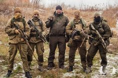 "fighters of Donbass - Novorossia Спецназовцы из ГБР ""Волк""."