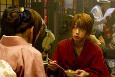 Takeru Sato as Kenshin Himura. Rurouni Kenshin live action.