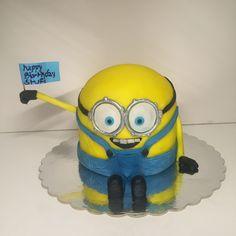 Torte, Minions, Geburtstag, cake, birthday, minion