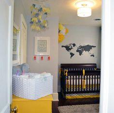 Travel Themed Nursery | Kids Room Decor