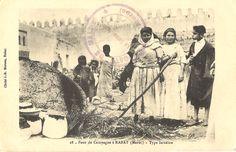 Rabat - Maroc - four de campagne, type israélite